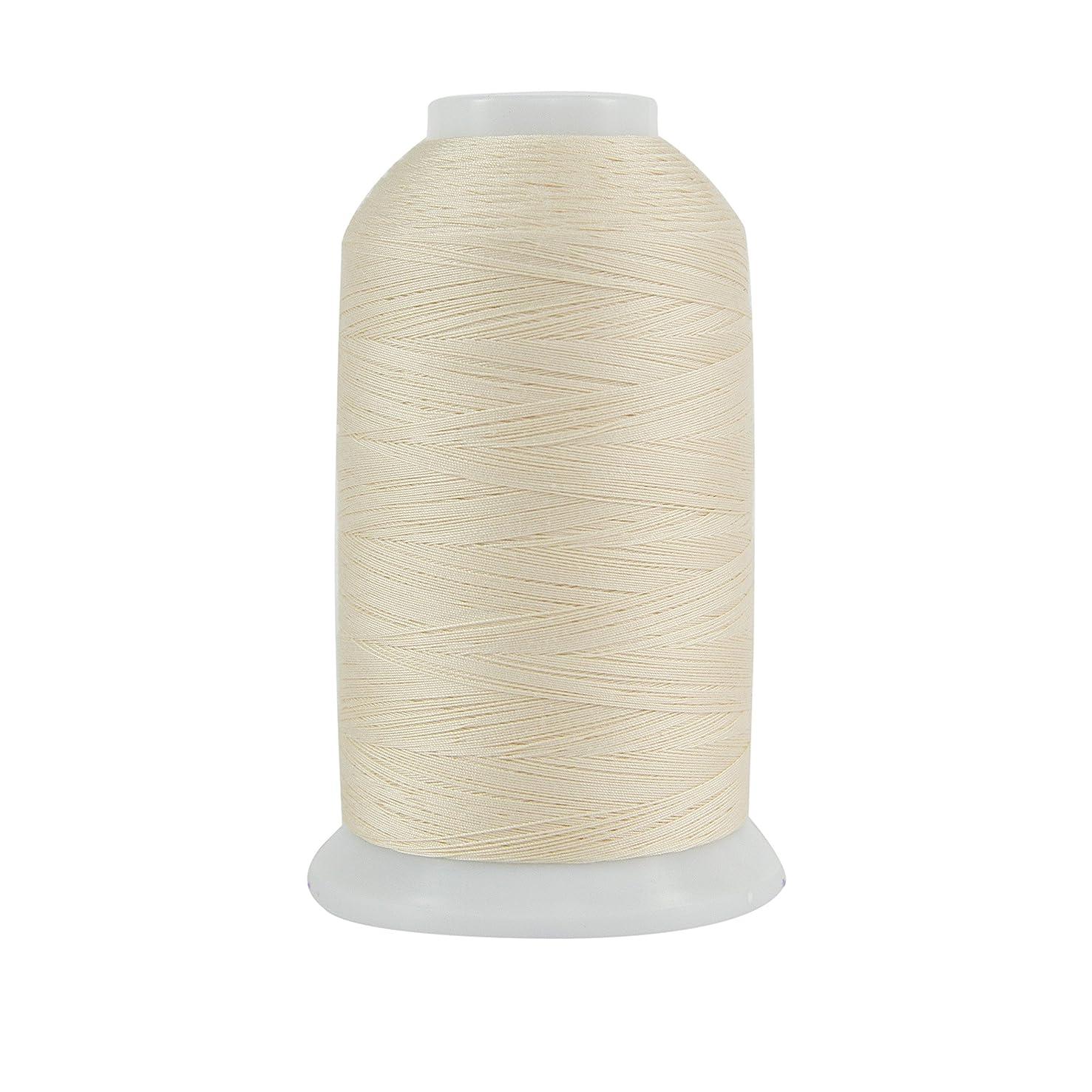 Superior Threads 121029XX972 Papyrus 3-Ply 40W King TUT Cotton Quilting Thread, 2000 yd
