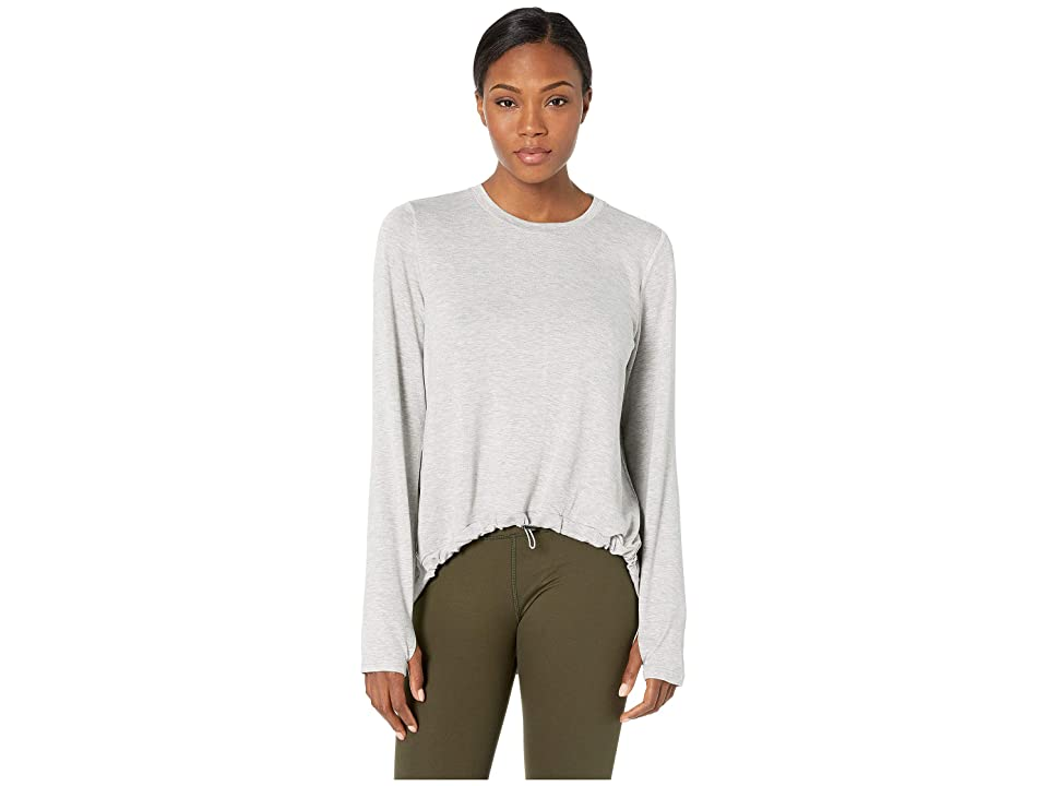 SHAPE Activewear Opt Out Sweatshirt (Heather Grey) Women
