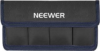Neewer Bolso de Batería de DSLR Soporte de Batería AA y lp-e6 lp-e8 lp-e10 en-el14 en-el15 fw50 f550 y Más Adecuado para Batería de Nikon D800 Canon 5DMKIII Sony A77 (Azul)