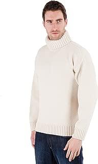 Paul James, Mens Polo Neck Merino Sweater. The Merino Submariners - Aran - Pure Merino Wool