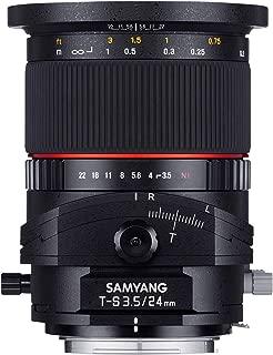 Samyang 24 mm F3.5 Tilt-Shift Manual Focus Lens for Sony-E