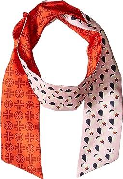 Heart Star Silk Necktie