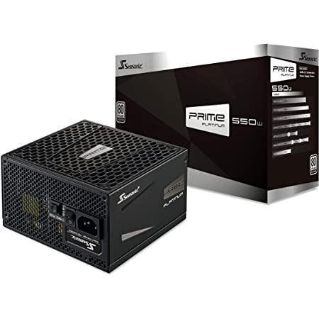 Netzteil Seasonic 550w Prime Modular Schwarz Computer Zubehör