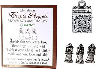 1/2'' Metal Prayer Box with Miniature Charms