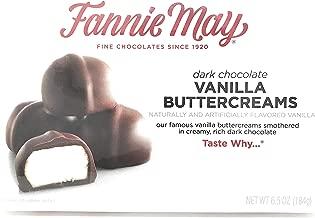 Fannie May Dark Chocolate Vanilla Buttercreams (6.5 oz. box)