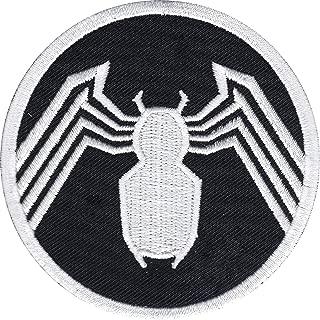 Official Marvel Comics Amazing Spiderman Venom's Logo Iron on Applique Patch