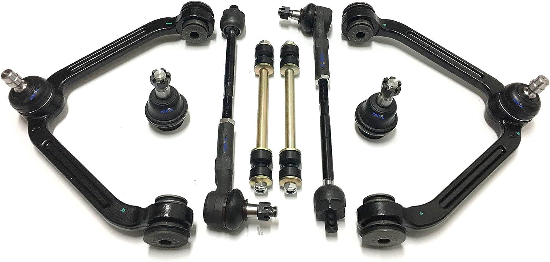 マート 10 Pc オンライン限定商品 Complete Suspension Kit Front with Arm Ball Control Upper