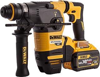 Dewalt DCH333X2-GB TL19788 Flex Volt SDS Brushless 3 Mode Rotary Hammer in TSTAK Box, 54 V, Yellow/Black, 355 mm/14-Inch, ...
