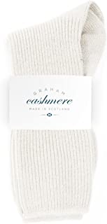 Graham Cashmere Women's Pure Cashmere Bed Socks