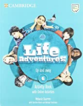 Life Adventures Level 6 Activity Book with Home Booklet and Online Activities: Up and away