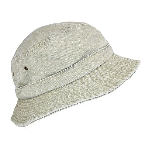 56ddb0fb53d Dorfman Pacific Cotton Packable Summer Travel Bucket Hat