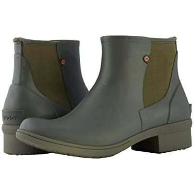 Bogs Auburn Slip-On Boot Rubber (Sage) Women