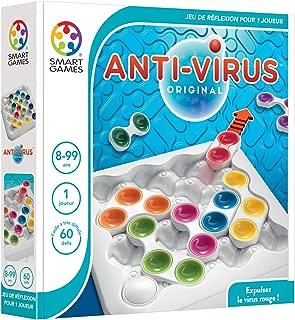 smart games- SG 520FR- Anti-Virus Logic Puzzle–Get Rid of The Virus [English Language not Guaranteed]