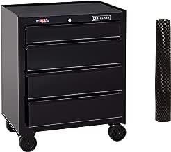 CRAFTSMAN Tool Cabinet, 26-Inch, 4 Drawer, Black (CMST82765BK)