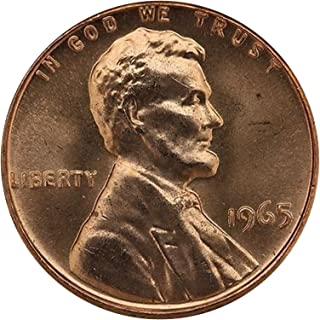 1965 Gem Special Mint Set SMS Lincoln Memorial Cent Penny Uncirculated US Mint