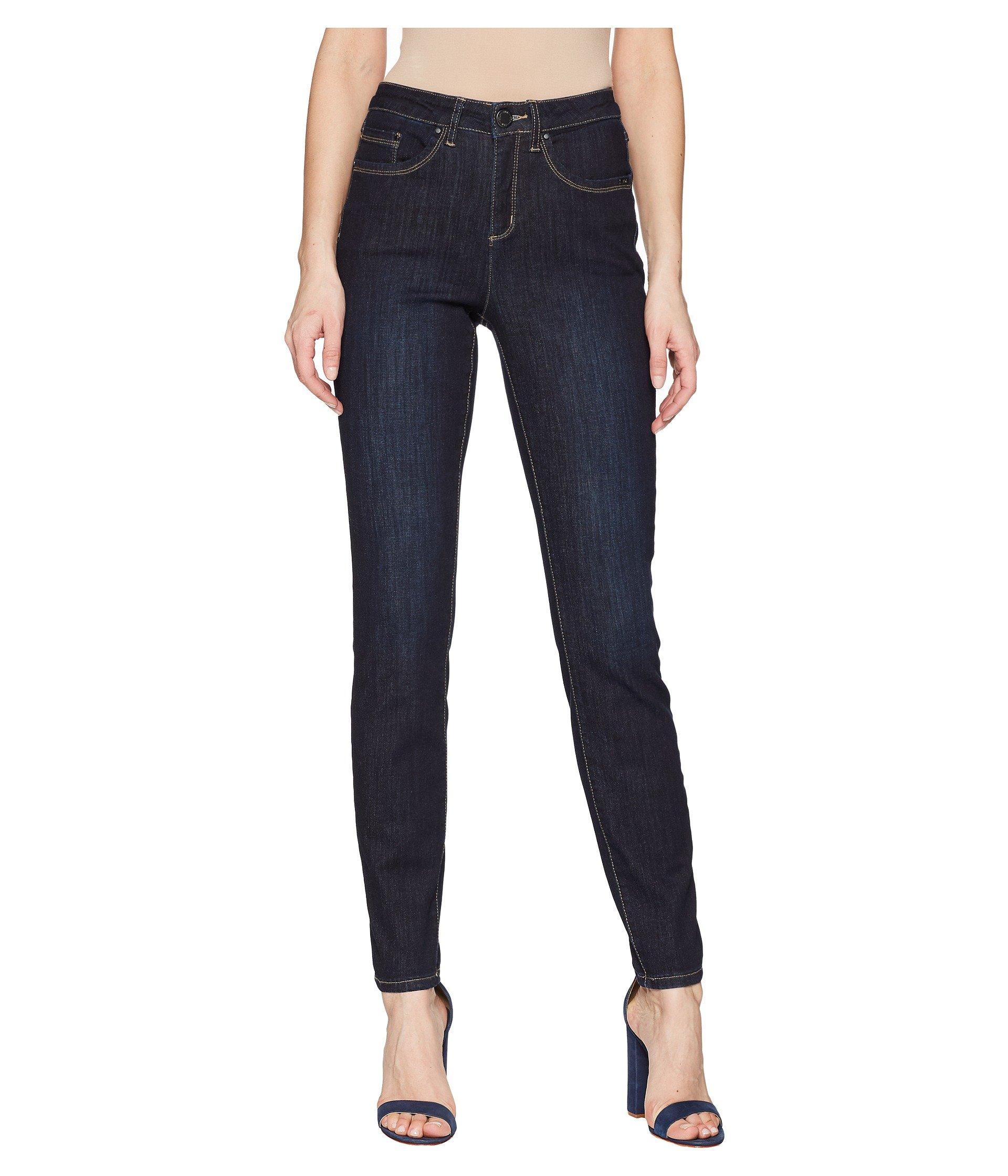 FDJ French Dressing Jeans Womens Coolmax Denim Olivia Slim Leg in Twilight