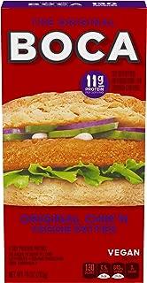 Boca Original Chik'n Frozen Vegan Protein Patties (4 Count)