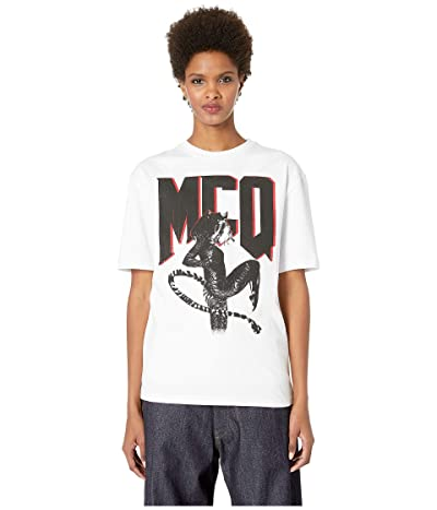 McQ Boyfriend T-Shirt (Optic White) Women
