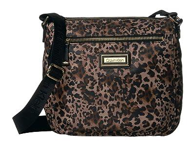 Calvin Klein Key Item Nylon Messenger H3JFE1CW (Leopard) Cross Body Handbags
