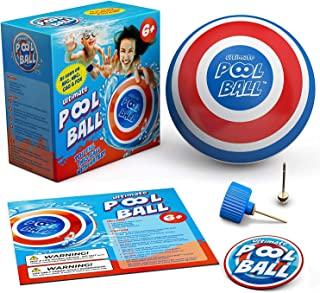 The ULTIMATE POOL BALL - You Fill This Ball with Water to Play UNDERWATER Games - Dribble Off the Pool Bottom & Pass Under...