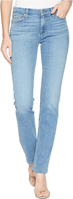7 For All Mankind Kimmie Straight in Bright Palm