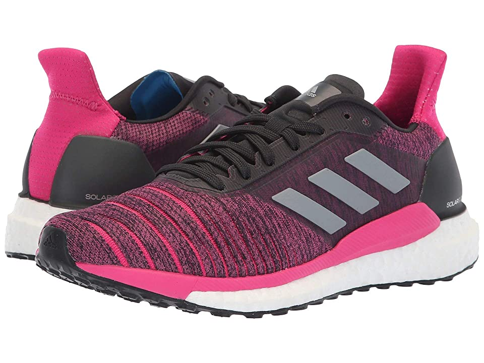 adidas Running Solar Glide (Carbon/Grey Three/Real Magenta) Women