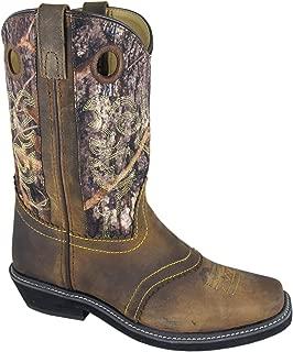 Smoky Mountain Kids' Hopalong Leather Round U Toe Boot