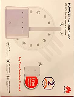HUAWEI 4G Router Pro2 with Free Wireless Extender