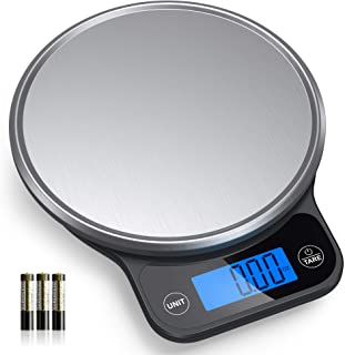 Nicewell Food Scale, High Accurate Digital Kitchen Scale with Pastry Mat, Scale Measures in Grams and Ounces 6kg 13lbs Max...
