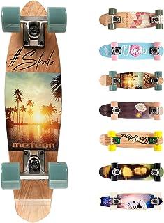 meteor Skateboard Kinder – Mini Cruiser Kickboard – Skateboard mädchen..