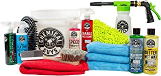 Chemical Guys HOL148 16-Piece Arsenal Builder Wash Kit with TORQ Blaster Foam Gun, Bucket and (6) 16 oz Care Products (Gif...