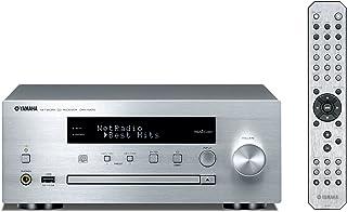 ヤマハ ネットワーク CDレシーバー AirPlay/MusicCast® 対応 Wi-Fi内蔵 シルバー CRX-N470(S)