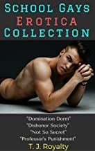 School Gays Erotica Collection: Domination Dorm, Dishonor Society, Not So Secret, Professor's Punishment