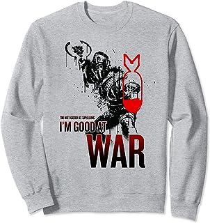 Netflix Daybreak I'm Not Good At Spelling I'm Good At War Sweatshirt