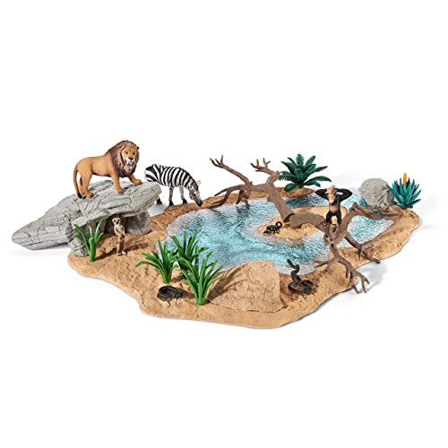 SCHLEICH 42258 - Wild Life Watering hole
