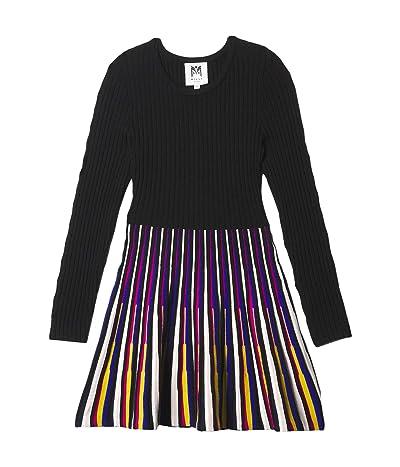 Milly Minis Multicolor Godet Flare Dress (Big Kids) Girl