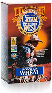 Cream of The West, 100% Natural Hot Cereal, Roasted Wheat - 24 oz. Single Box