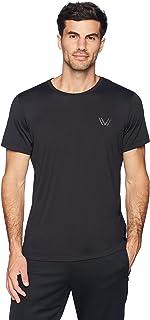 Peak Velocity Men's Short Sleeve Quick-Dry Fitted Performance T-Shirt