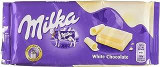 Milka (Germany) Weisse Schokolade (White Chocolate) 3-Pack