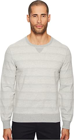 Billy Reid - Striped Crew Neck Sweatshirt