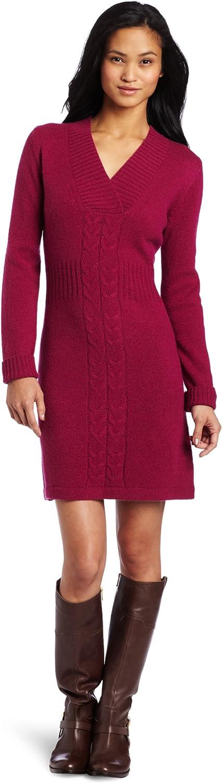Merrell Women's Angelic Sweater Dress, Rhubarb, Large
