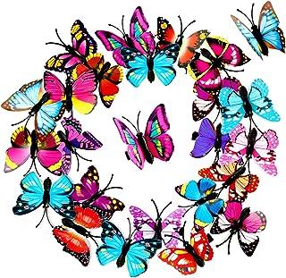 Papillon pince à cheveux brodé couleur vive 5cm forked clip cheveux pince