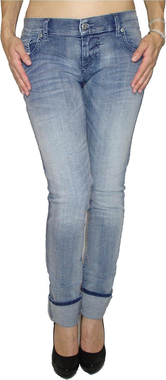 Diesel Womens Stretch Jeans Grupee 0667E Superslim Skinny bluee