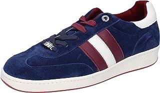 D'Acquasparta Sneaker Uomo Pelle Scamosciata Blu