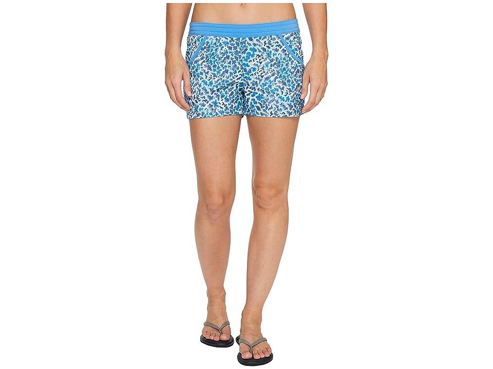 Columbia Tidal Shorts (Harbor Blue Coral Print) Women