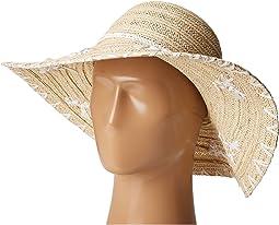 San Diego Hat Company - PBL3075 Floppy Paper Braid Hat with Shells