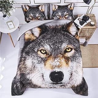 Best wolf comforter sets Reviews