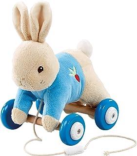 Rainbow Designs Peter Rabbit Plush/Wood Pull Along Toy