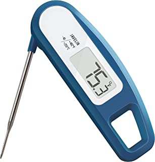 Lavatools PT12 Javelin Digital Instant Read Meat Thermometer for Kitchen, Food Cooking, Grill, BBQ, Smoker, Candy, Home Brewing, Coffee, and Oil Deep Frying (Indigo)