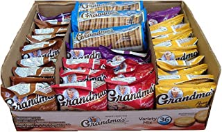 Grandma's Cookies Variety Mix - 36 / Box